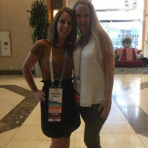 Samantha and I meeting at RWA in Denver